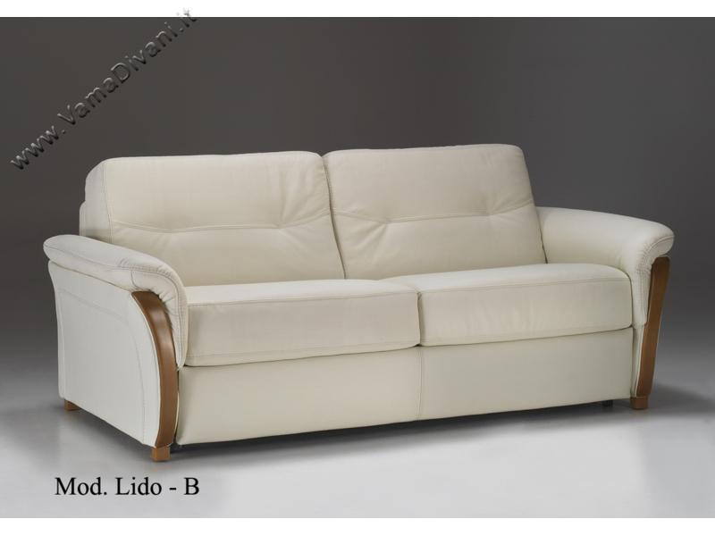 Divano letto hannover elegante interior for Divani letto in pelle