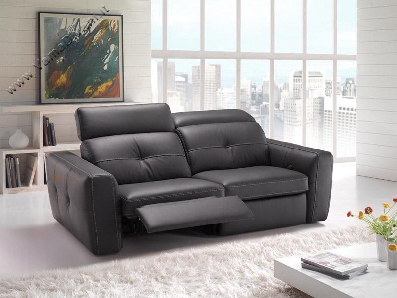 Divani in pelle artigianali 2 e 3 posti anche su misura for Divani e divani relax