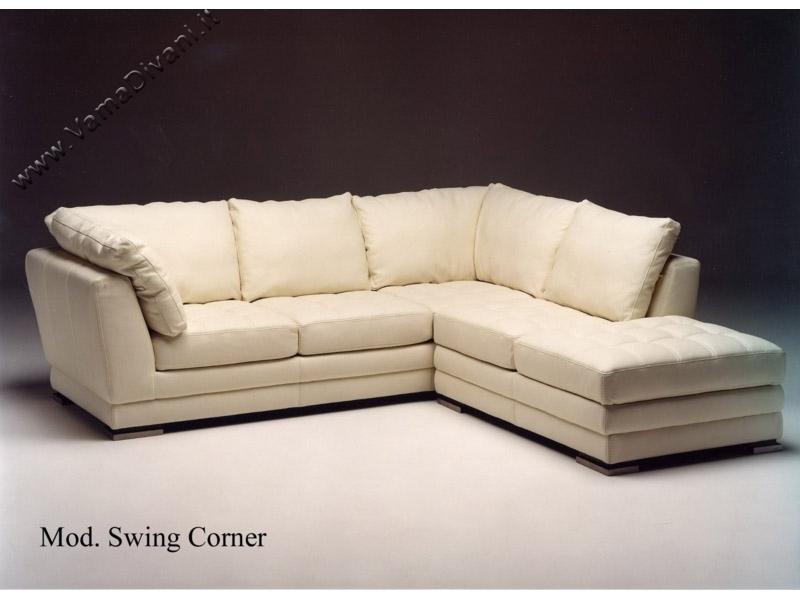 Divani angolari in pelle in tessuto e chester anche su misura - Copridivano angolare per divano in pelle ...