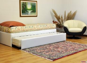 Apertura doppio letto a cassetto