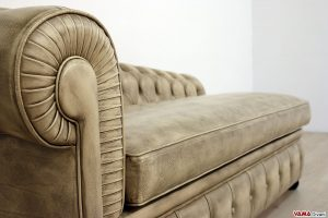 Dormeuse classica vintage chesterfield