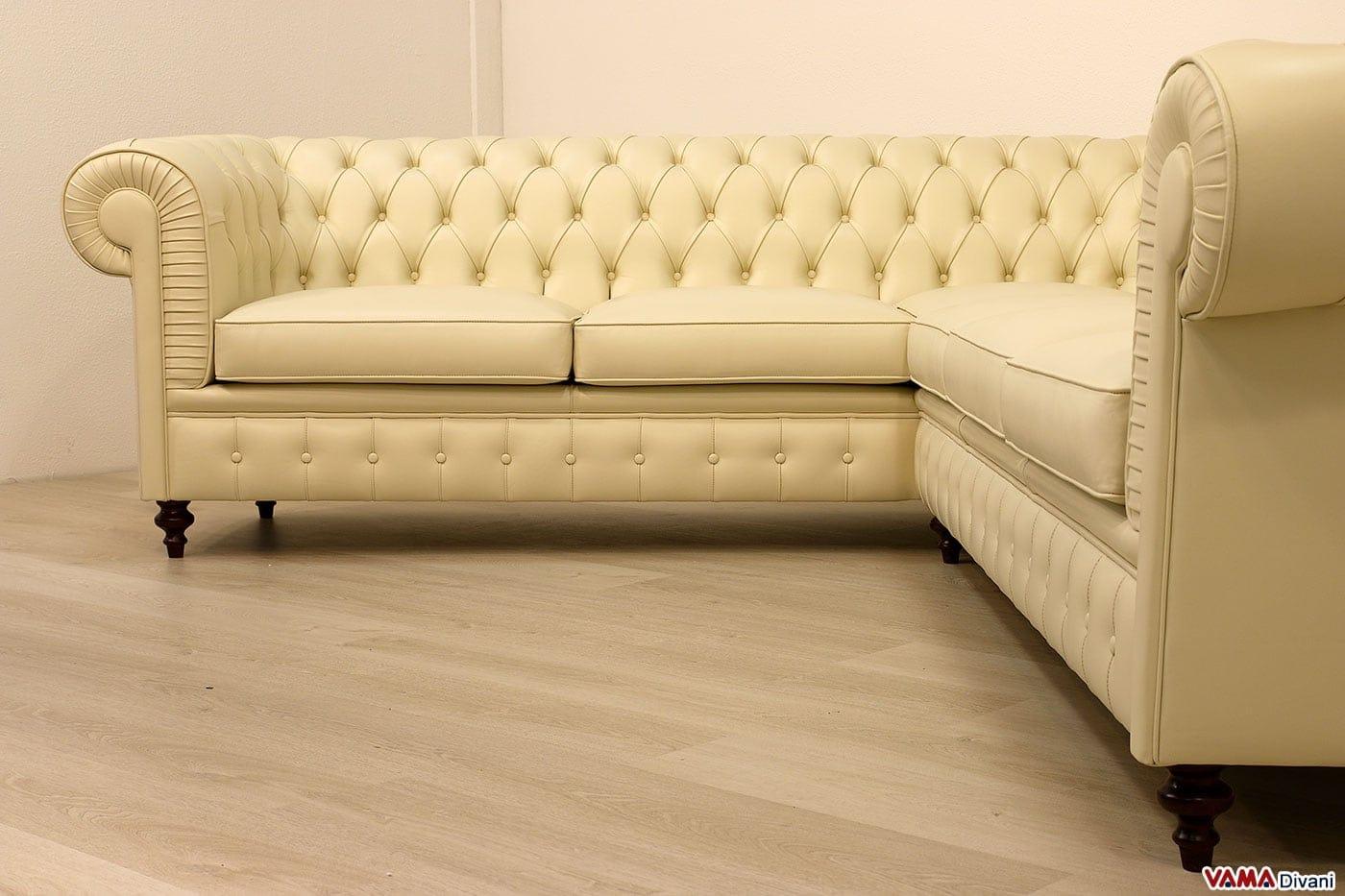 Divani ad angolo in pelle prezzi divano letto ikea divano for Divano letto in pelle prezzi