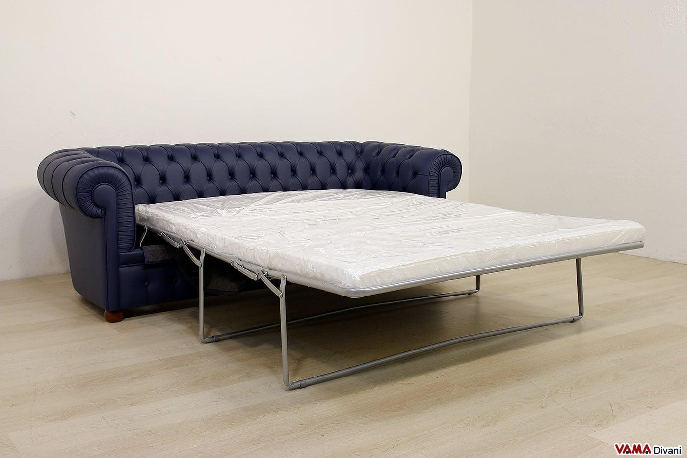 Divano chesterfield 3 posti vama divani - Divano letto matrimoniale offerte ...