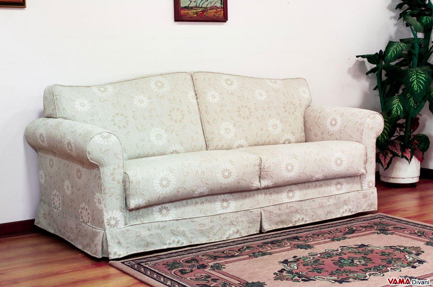 Divano letto matrimoniale classico in tessuto - Ovvio divani letto ...