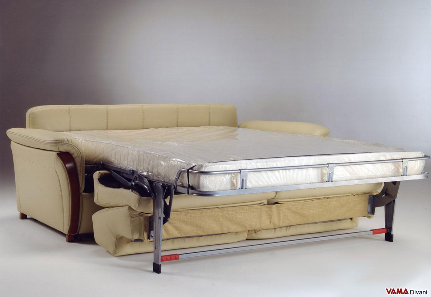 Divano letto lido e vama divani - Divani letto in pelle offerte ...