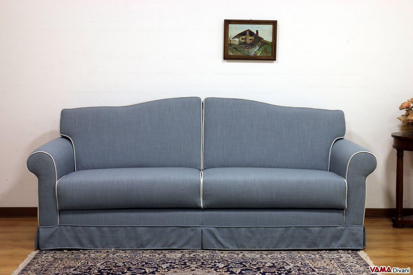Divano letto classico gaspar idee per il design della casa - Prodotti per pulire il divano in tessuto ...