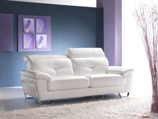divano bianco moderno