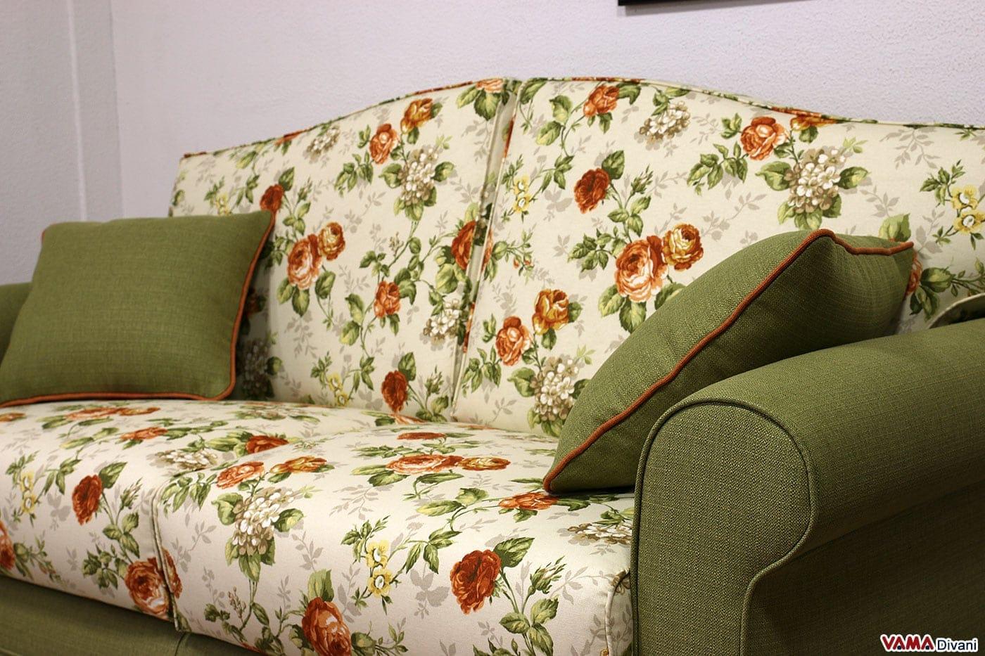 Divano Classico A Fiori: ... alle 1450   in divani a fiori per un ...
