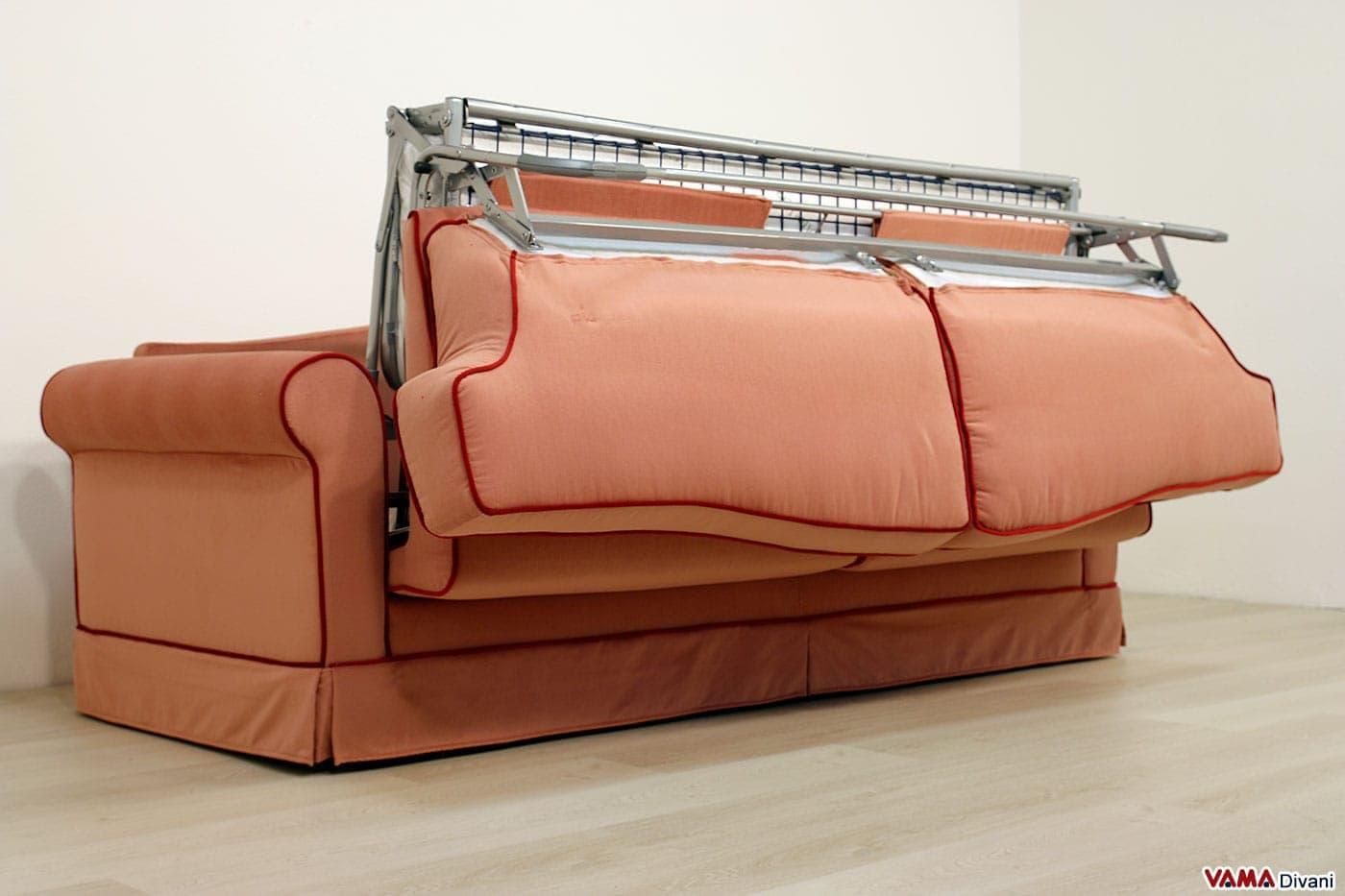 Divano Letto Rosa : Pronto letto galles vama divani