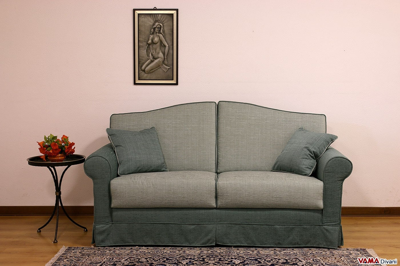 Divano letto azzurro idee per il design della casa - Divano letto azzurro ...