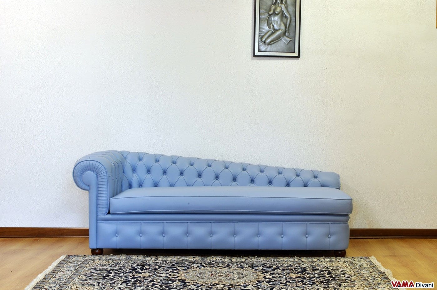 Dormeuse chesterfield