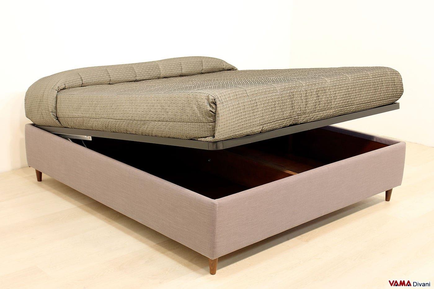 Letti contenitore prezzo misure e dove acquistarli online for Camere da letto in legno prezzi