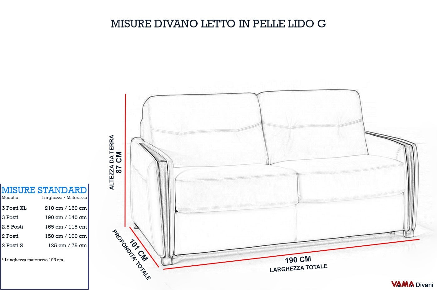 Best Divano Letto Misure Pictures - Skilifts.us - skilifts.us