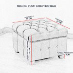 Dimensioni Pouf Chesterfield
