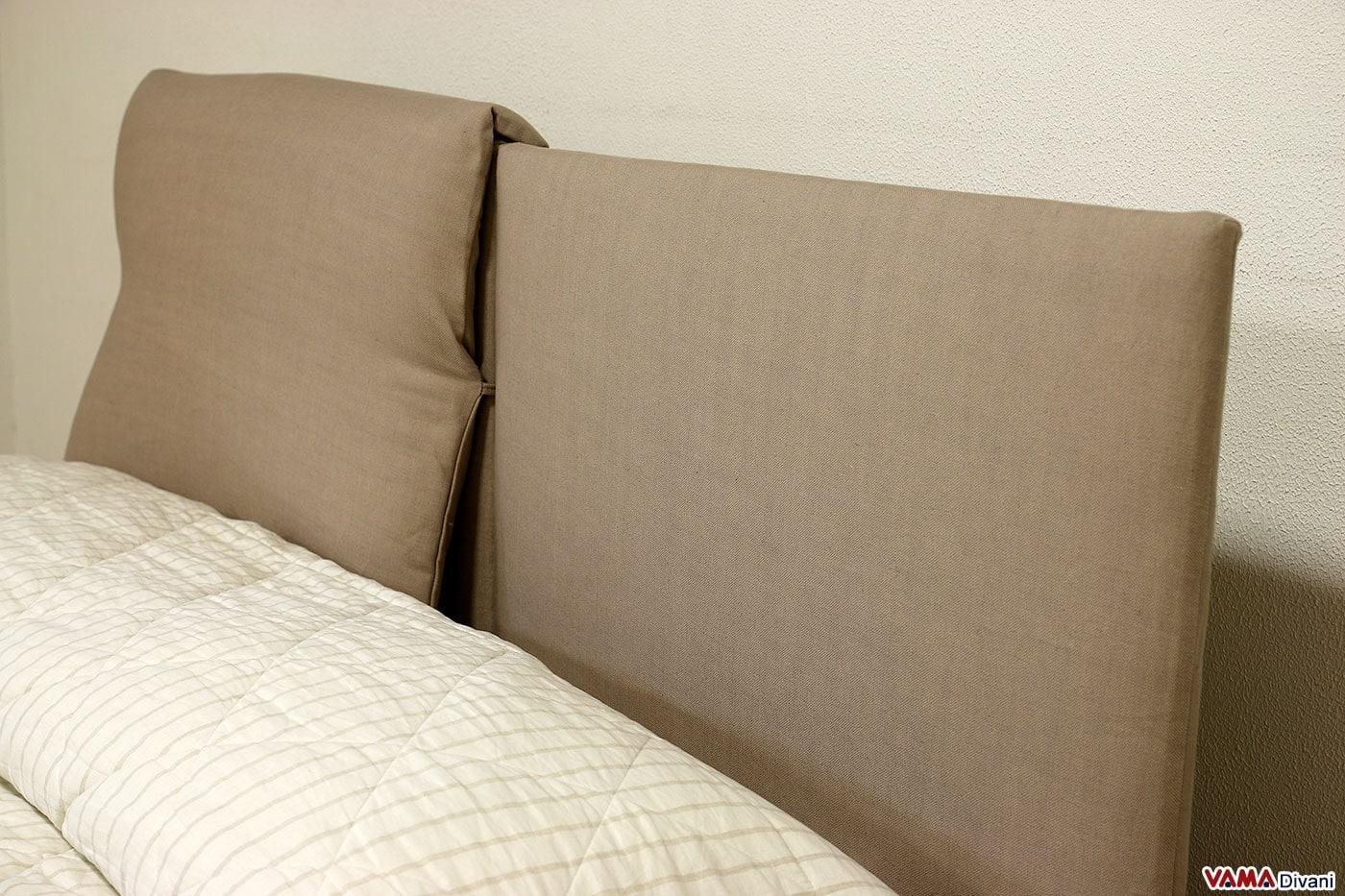 Testata letto con cuscini 28 images letto in tessuto for Cuscini per testata letto ikea