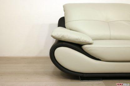 Bracciolo di design del divano in pelle