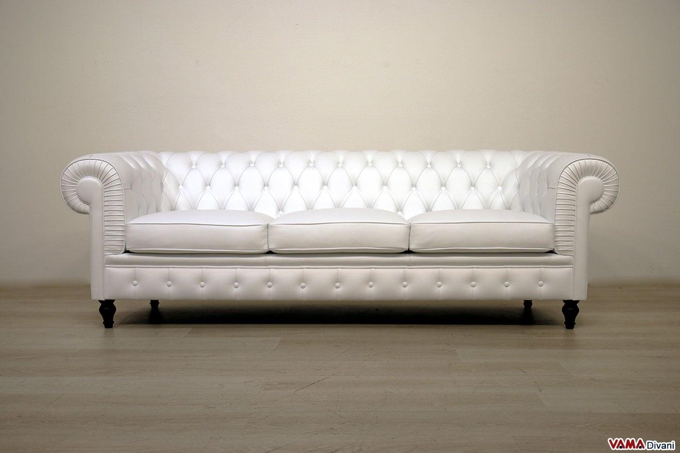 Divano Rosa Cipria : Divano chesterfield posti vama divani