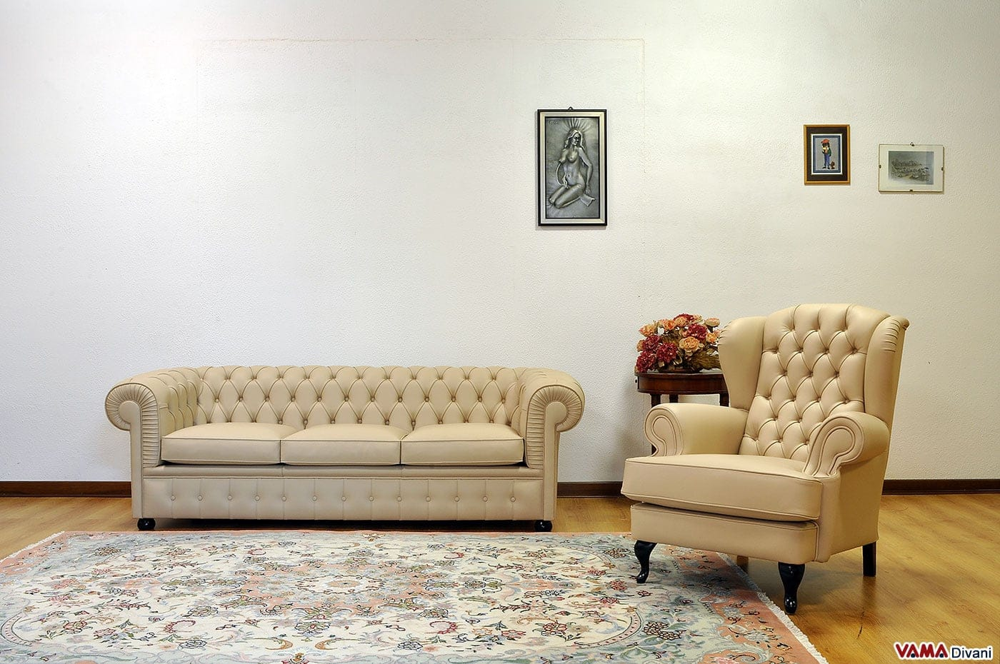 divano chesterfield 3 posti prezzo e dimensioni