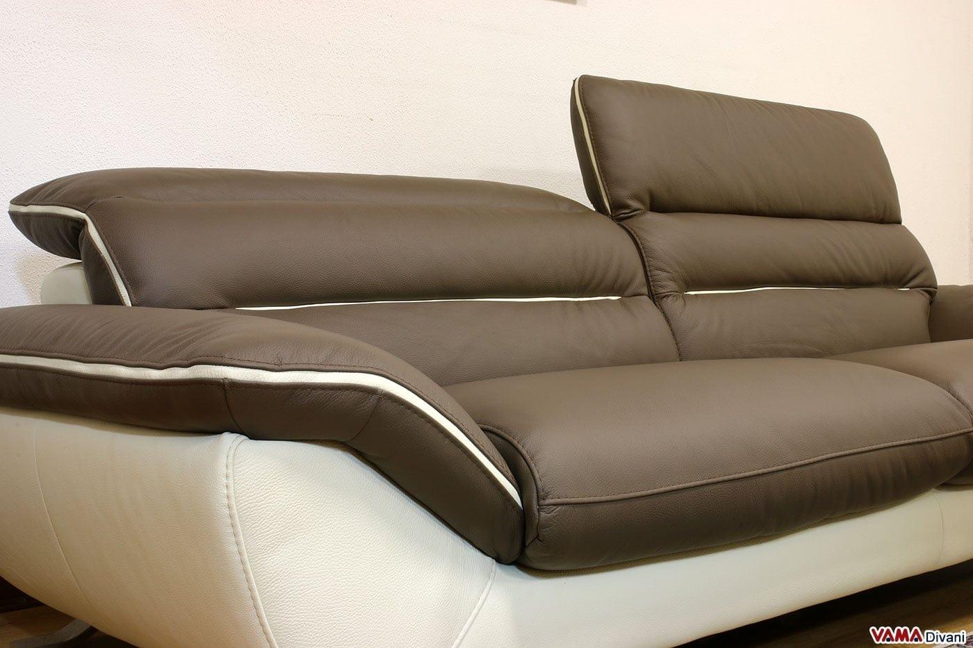 divano moderno bianco