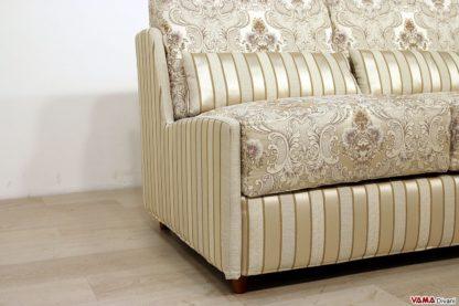 Laterale del divano letto