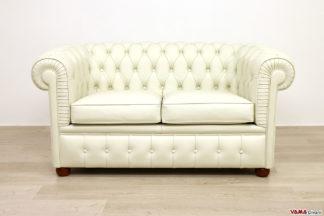 Piccolo divano Chesterfield 2 posti