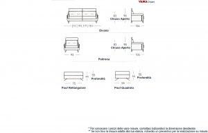 Dimensioni divano Ster
