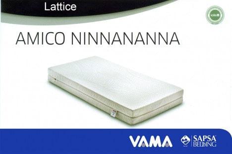 Materasso in lattice per bambini Amico Ninnananna - Sapsa Bedding