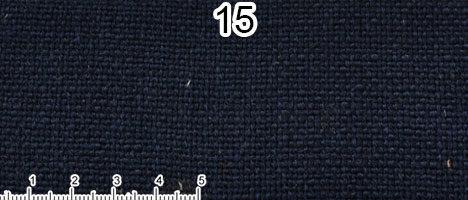 Tessuto Cotone e Lino Colore blu scuro