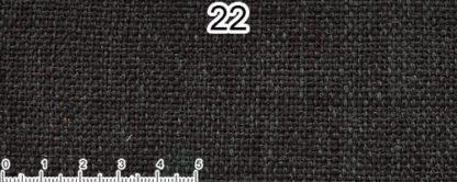 Tessuto Cotone e Lino Colore nero