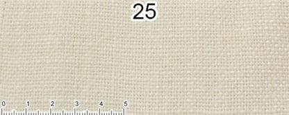 Tessuto Cotone e Lino Colore Bianco