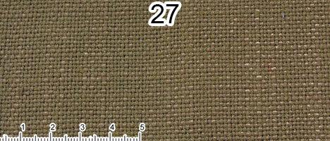 Tessuto Cotone e Lino Colore verde spento