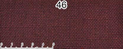 Tessuto Cotone e Lino Colore viola scuro