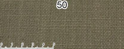 Tessuto Cotone e Lino Colore verde sbiadito