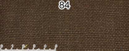 Tessuto Cotone e Lino Colore marrone corteccia
