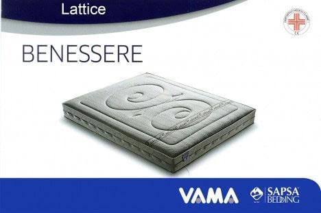 Materasso in lattice Benessere - Sapsa Bedding