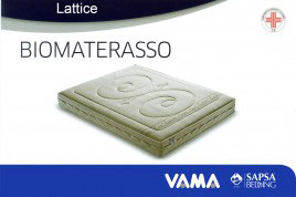 Biomaterasso Materasso in lattice Sapsa Bedding