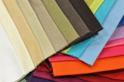 Colori tessuto 100% cotone