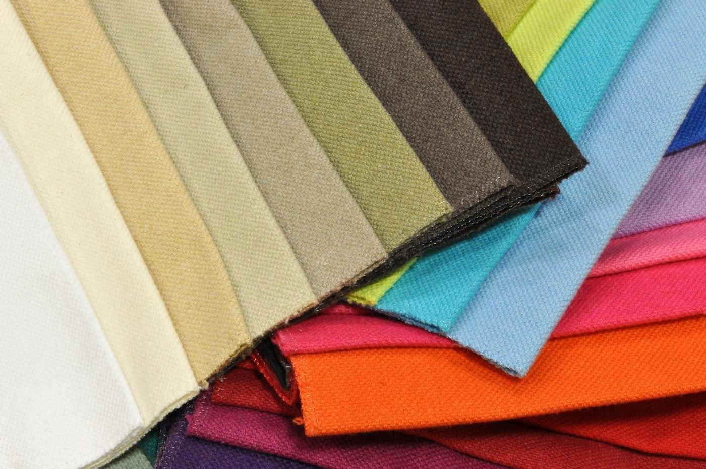 Catalogo Tessuto Cotone 100 Colori E Trame