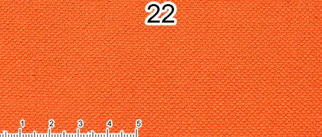 Tessuto 100% Cotone arancione forte