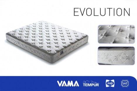 Materasso a molle Evolution - Tempur Sealy