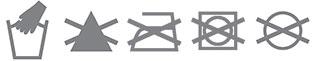 Icone Lavaggio Ecopelle