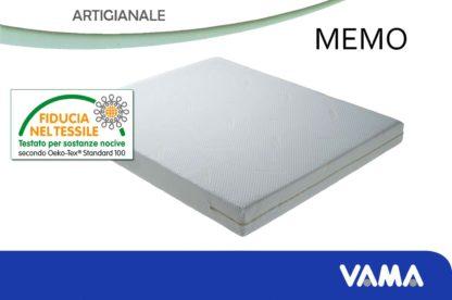 Materasso Artigianale in Memory realizzabile anche su misura