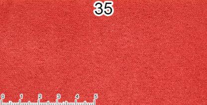Microfibra rosso acceso