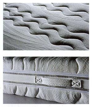 Particolare Materasso in lattice Biorespiro