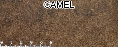 Pelle invecchiata color cammello
