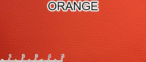 Pelle Fiore arancio