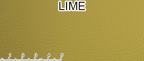 Pelle Spessorata colore lime