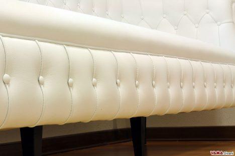 Base Bottonata e seduta divano con molleggio