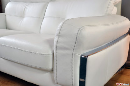 Bracciolo Divano Moderno bianco