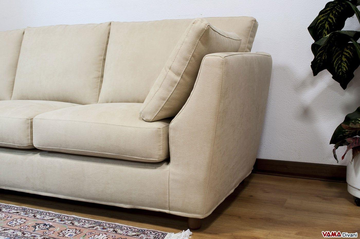Divano angolare piccolo vama divani - Piccolo divano angolare ...